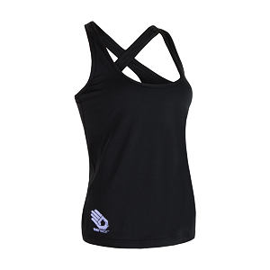 SENSOR COOLMAX PT SLEEVELESS WOM BLACK HAND