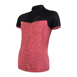 SENSOR CYCLE jersey full zip WOM pink/blk MOTION