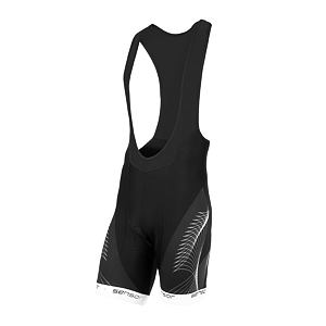 SENSOR CYCLE bib shorts MEN blk/wht TEAM UP