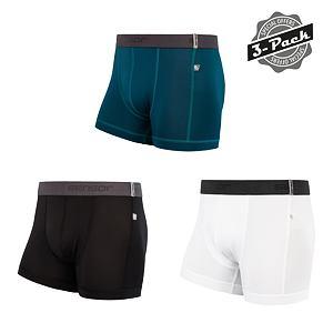SENSOR COOLMAX TECH 3-PACK boxers MEN blk/wht/saphire