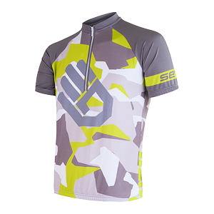 SENSOR CYCLING JERSEY SS MEN GREEN CAMO