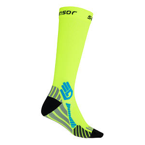SENSOR COMPRESS SOCKS REFLEX YELLOW