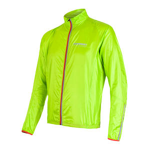 SENSOR PARACHUTE JACKET MEN GREEN REFLEX