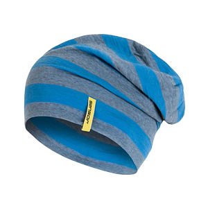 SENSOR BEANIE MERINO WOOL BLUE STRIPES