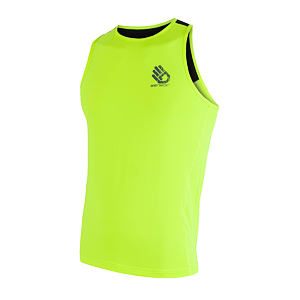 SENSOR COOLMAX PT SLEEVELESS MEN REFLEX YELLOW HAND