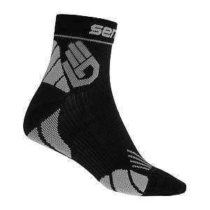 SENSOR MARATHON SOCKS BLACK/GREY