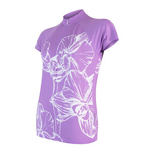 SENSOR CYCLE jersey WOM pur FLOWERS