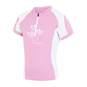 SENSOR CYCLING JERSEY SS YOUTH PINK ENTRY