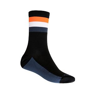 SENSOR SOX blk/org COOLMAX SUMMER STRIPE