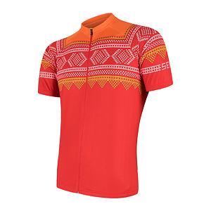 SENSOR CYCLE jersey full zip MEN red JUMP-AIR