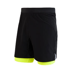 SENSOR TRAIL RUNNING SHORTS MEN BLACK