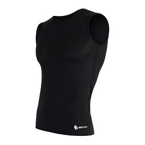 SENSOR COOLMAX AIR TEE SLEEVELESS MEN BLACK
