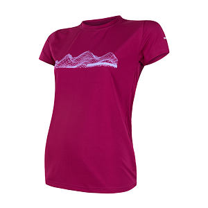 SENSOR COOLMAX FRESH PT tee ss WOM lilla mountains
