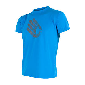 SENSOR COOLMAX PT TEE SS MEN BLUE HAND