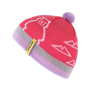 SENSOR BEANIE YOUTH pink BEAR