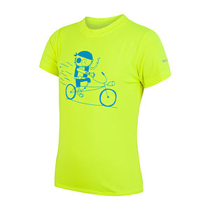 SENSOR COOLMAX PT TEE SS YOUTH REFLEX YELLOW PIRATE