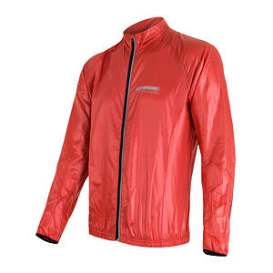 SENSOR PARACHUTE JACKET MEN RED