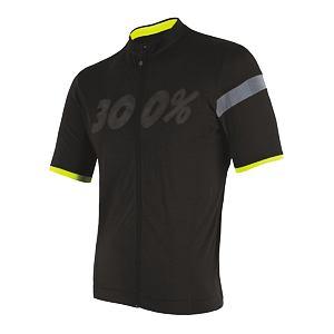 SENSOR CYCLE jersey full zip MEN blk CLASSIC