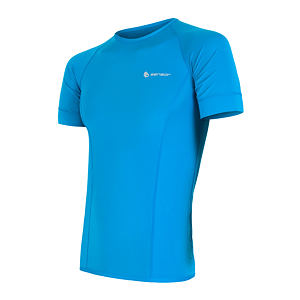 SENSOR COOLMAX TEE SS MEN BLUE