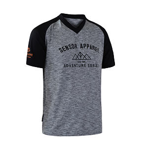 SENSOR CYCLE jersey SS MEN gry/blk CHARGER