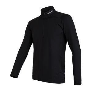 SENSOR THERMO tee ls zip MEN blk/print