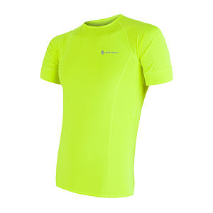 SENSOR COOLMAX TEE SS MEN REFLEX YELLOW