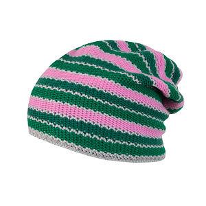 SENSOR CAP STRIPES PINK/GREEN