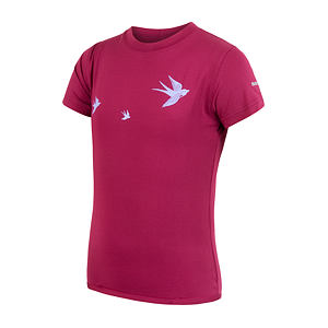 SENSOR COOLMAX PT TEE SS YOUTH LILLA SWALLOW