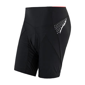 SENSOR CYCLING SHORTS WOM BLACK RACE