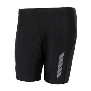 SENSOR CYCLING SHORTS YOUTH BLACK ENTRY