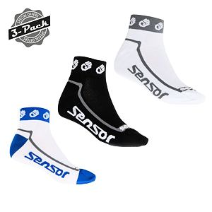 SENSOR RACE LITE 3-PACK SOCKS LITTLE HANDS