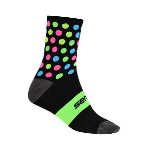 SENSOR sox blk/multi DOTS