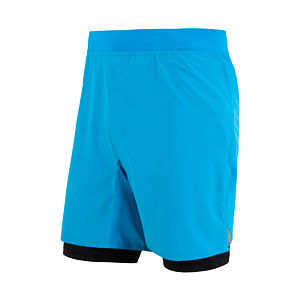 SENSOR TRAIL RUNNING SHORTS MEN BLUE