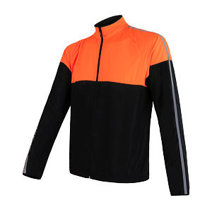 SENSOR NEON JACKET MEN BLACK/REFLEX ORANGE