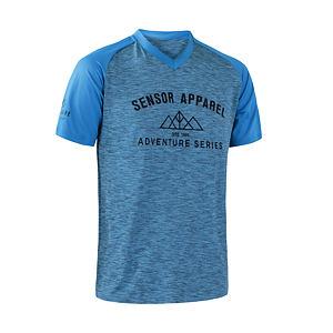 SENSOR CYCLE jersey SS MEN blu CHARGER