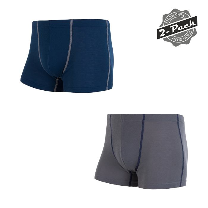 SENSOR ORIGINAL 2-PACK boxers MEN gry/dark blu