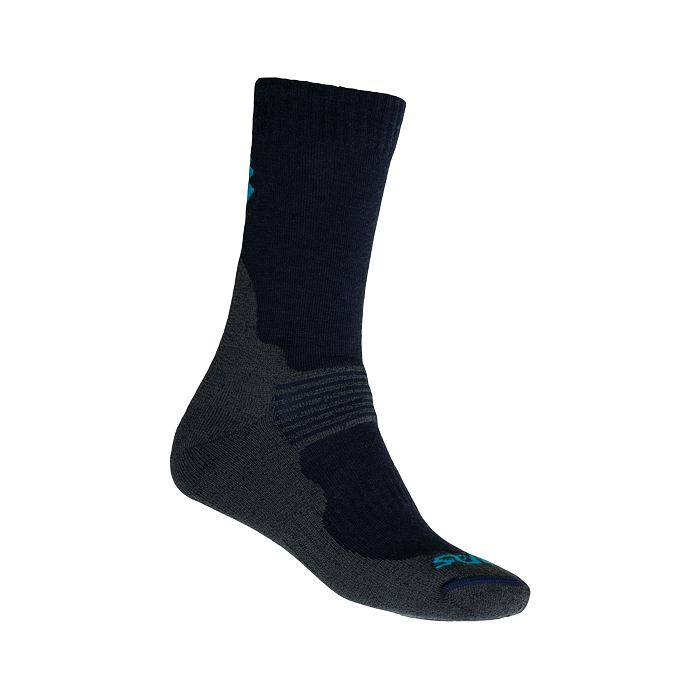 SENSOR SOX deep blue EXPEDITION MERINO