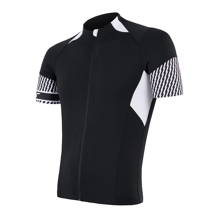 SENSOR CYCLING JERSEY SS MEN BLACK RACE