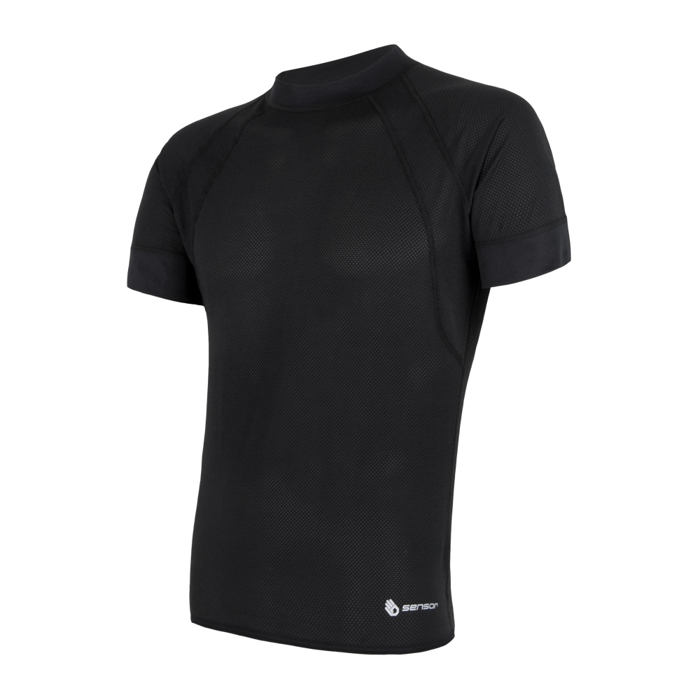 SENSOR COOLMAX AIR TEE SS MEN BLACK